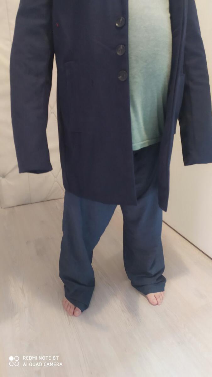 Pánský kabát Johan (Obrázek k recenzi)