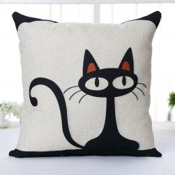 Poszewka na poduszkę z motywem kota