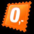 Czarna chusta wielofunkcyjna z czaszką