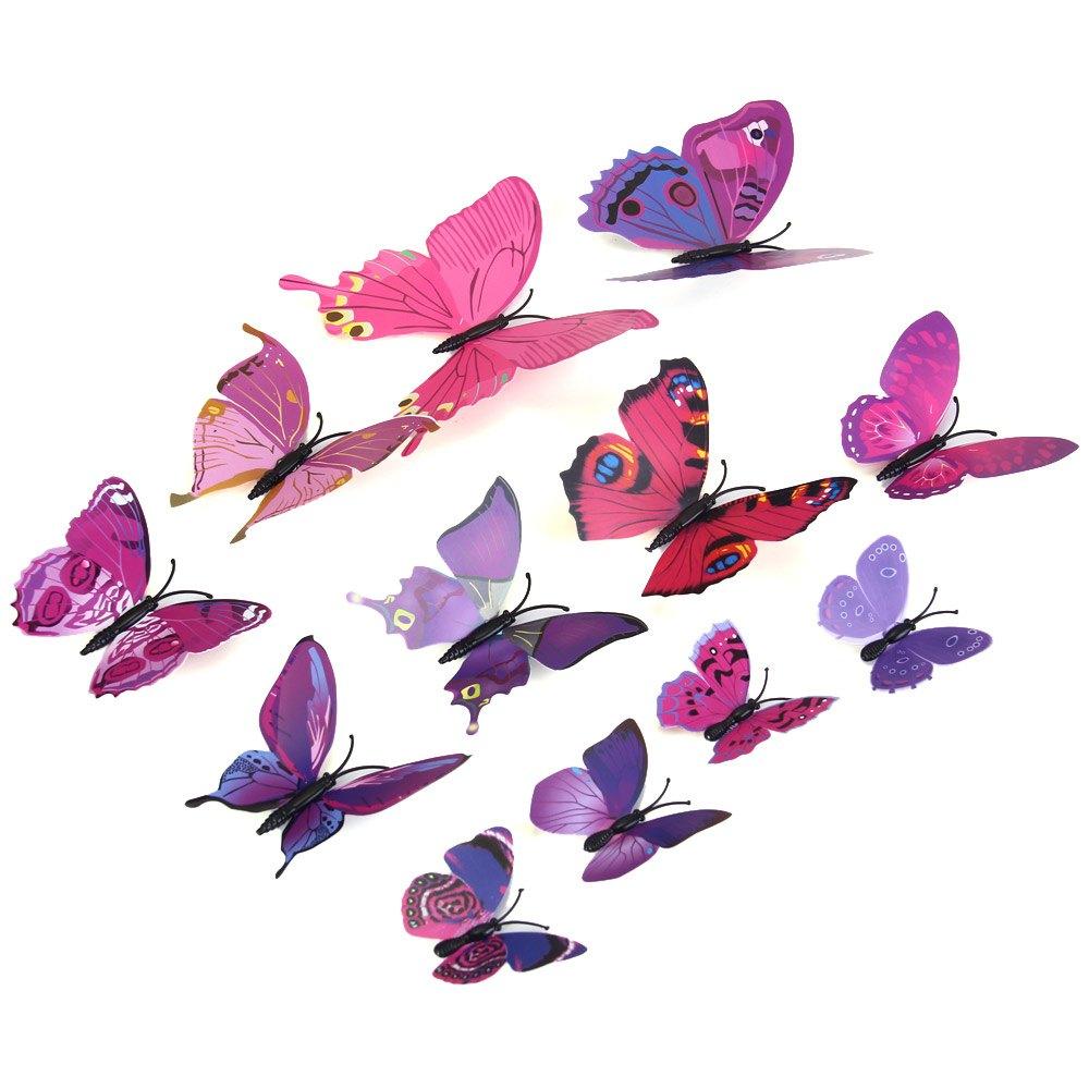 Magnety 3D motýl