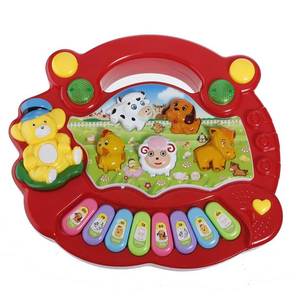 Farma zvířat - hudební hračka pro děti