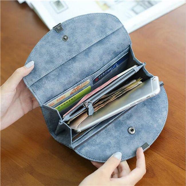 Dámská peněženka z umělé kůže - 2 barvy 1