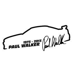 Araba sticker Paul