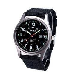 Męski analogowy zegarek RT03