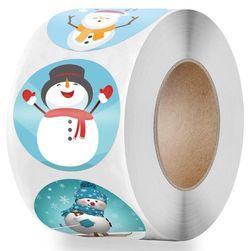 Vánoční samolepky B010768