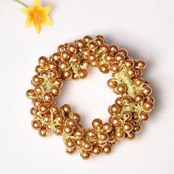 Banda elastica de par cu perle - 3 culori