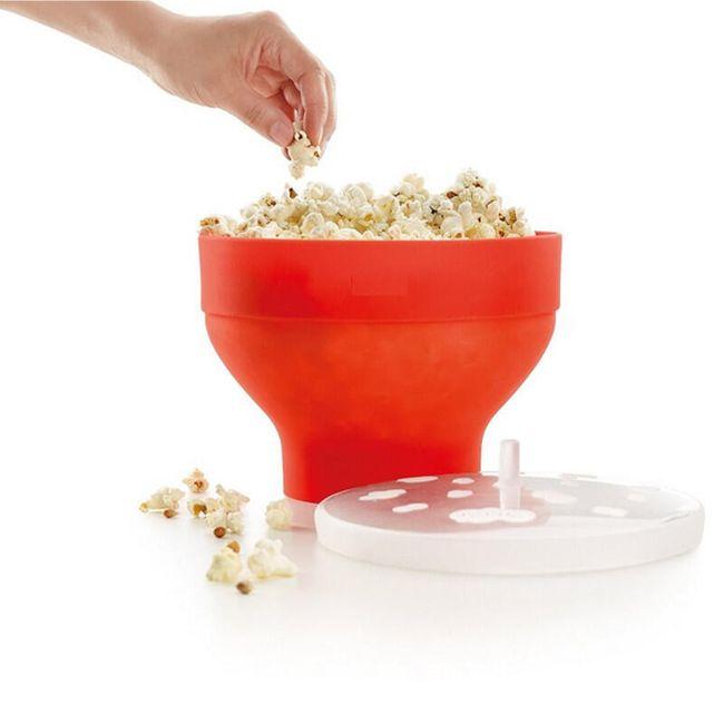 Miska na popcorn do mikrovlnné trouby 1