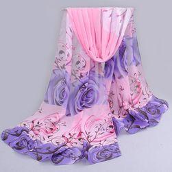 Ženska marama sa motivima ruže - više boja