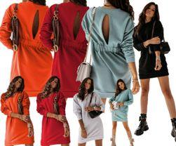 Ženska haljina sa dugim rukavima EA_631875299193