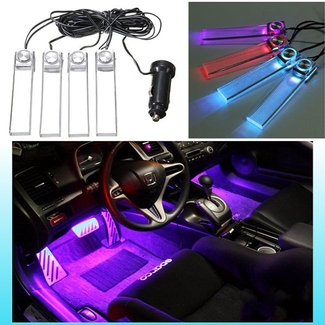 Светодиодные напольные лампы для автомобиля 1