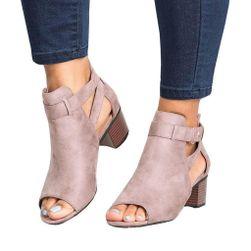 Damskie sandały na obcasie Piper