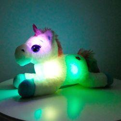 Plišani jednorog LED