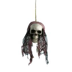 Halloween dekoracija - lobanja
