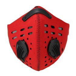 Zaščitna maska za usta rdeča