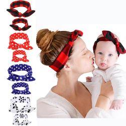 Set traka za kosu za mamu i dete LA140