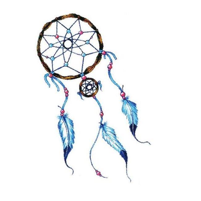 Dočasné tetování - lapač snů 1