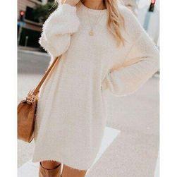 Swetrowa sukienka Paulette