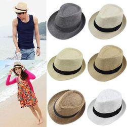 Соломенная шляпа Федора- разные расцветки