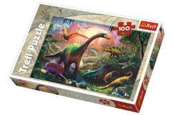 Puzzle Dinosauři 100 dílků 41x27,5cm v krabici 29x20x4cm RM_89116277