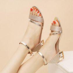Dámské sandály na podpatku Adria