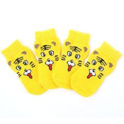 Pestrobarevné psí ponožky - 8 variant