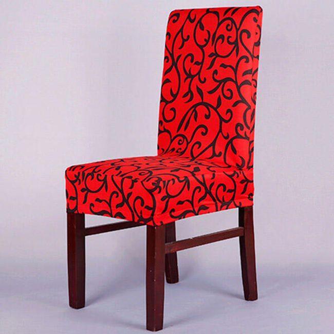 Potah na židli v elegantním designu 1
