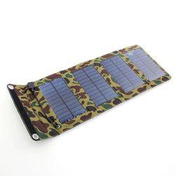 Соларно външно зарядно 7 W - сгъваемо