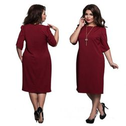 Női plusz méretű ruha
