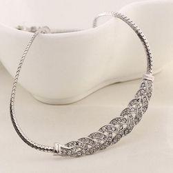 Ženska ogrlica sa luksuznim ukrasom - 2 boje