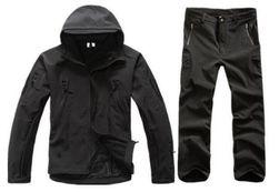 Uniseks jakna sa pantalonama OKL4 Crna - veličina 7