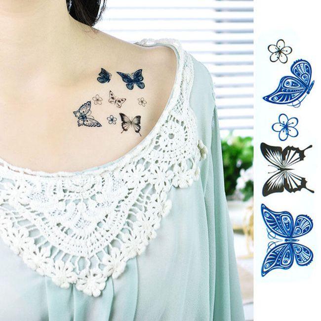 Tatuaj temporar - Fluturi 1