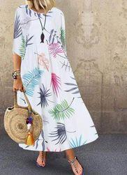 Ženska maksi haljina Zalena