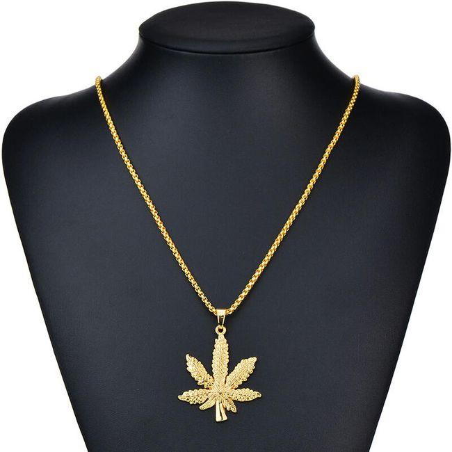 Verižica marihuana 1