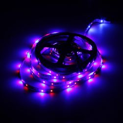 Bandă cu lumină LED pentru decorat camera - colorată