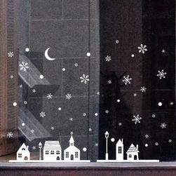Sticker decorativ de Crăciun pentru geam