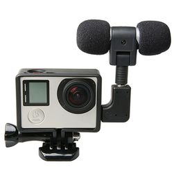 Microfon suplimentar pentru GoPro Hero 4 3+ 3