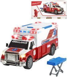 Auto ambulancie 33cm set s nosidlami na batérie plast Svetlo Zvuk SR_DS14747718