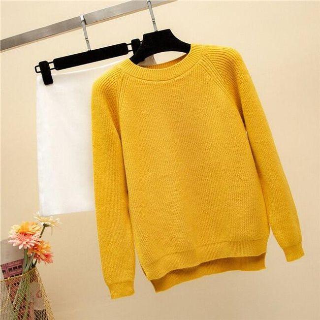 Női kötött pulóver Cassia