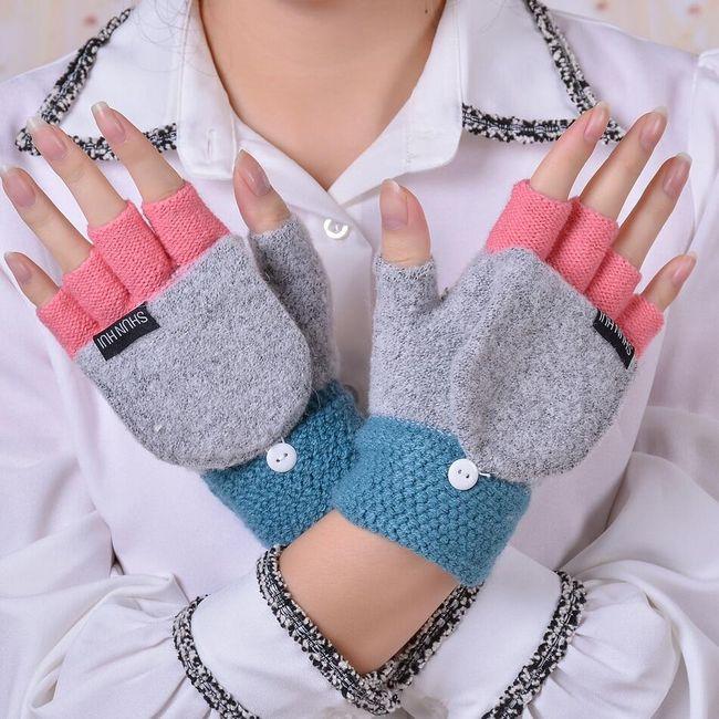 Damskie rękawiczki DAR07 1