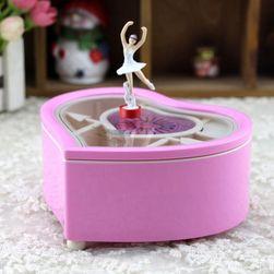 Šperkovnice tančící baletkou - 2 barvy