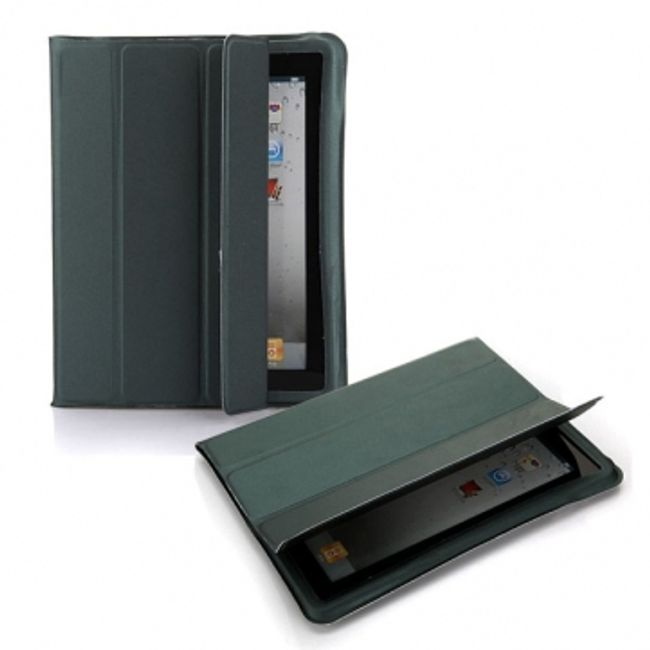 Magnetický chytrý kryt pro iPad 2 - černý 1