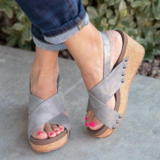 Ženske sandale na platformu Gwendolyn 1