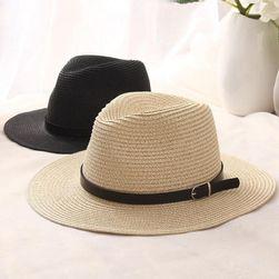 Słomiany damski kapelusz - 3 kolory