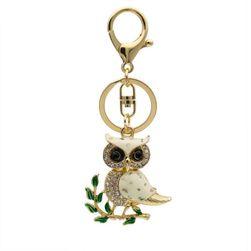 Přívěsek na kabelku či klíče - sovička