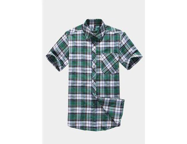 Pánská módní kostkovaná košile - 2 barvy 1