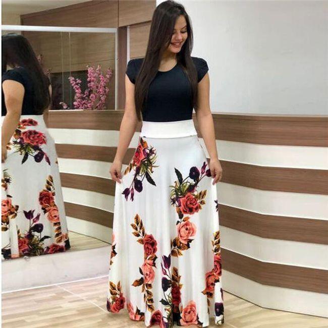 Дълга дамска рокля Mirella 1