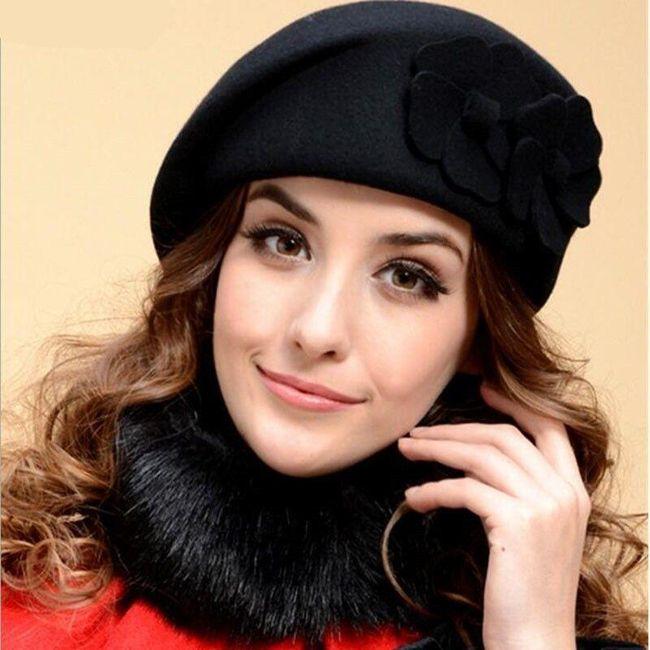 Női barett sapka DB4578