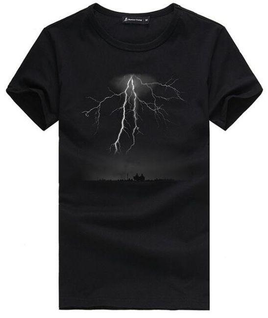 Pánské tričko - blesk 1