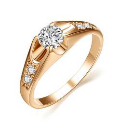 Женское обручальное кольцо- 2 расцветки