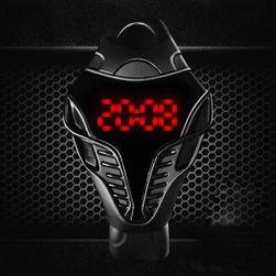 Стилен мъжки LED часовник - два цвята
